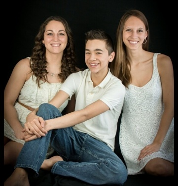 MY ONLY NEPHEW AND 2 OF MY 4 NIECES.