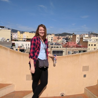 ALLISON IN BARCELONA.