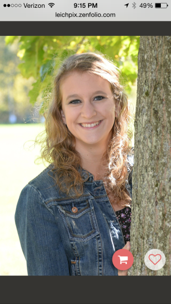 MY NIECE KAITLIN'S SENIOR PICTURE.