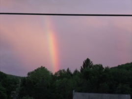 Memorial Day Evening Rainbow 2017